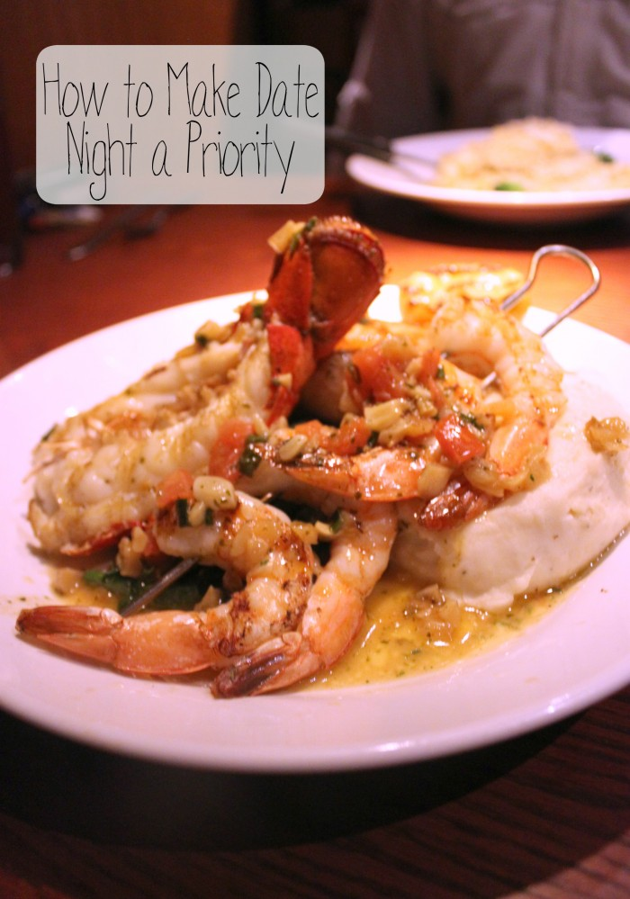 How to Make Date Night a Priority at Red Lobster #LobsterWorthy