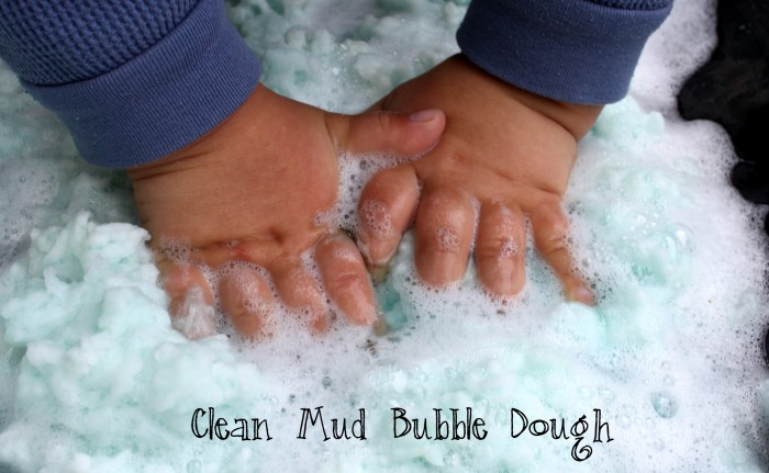 Make Clean Mud Bubble Dough with Your Kids - The Easiest Sensory Dough Ever