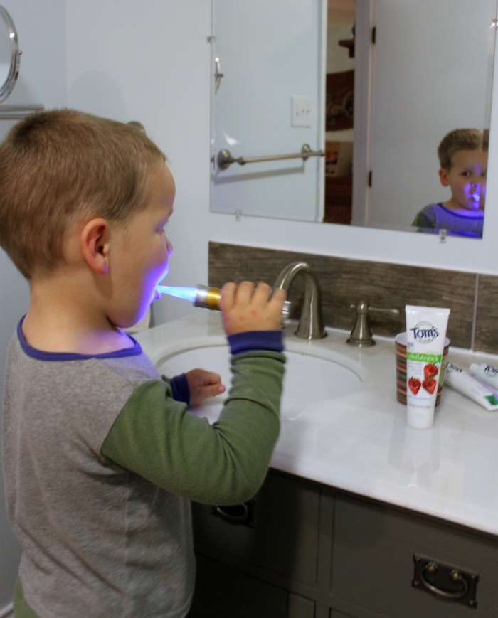 Teaching Kids to Brush Their Teeth with Tom's of Maine #naturalgoodness #ad