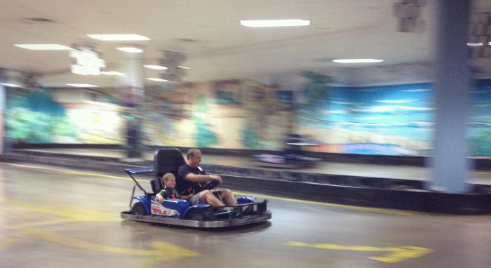 The GoKarts at Amazing Jakes are so fun!