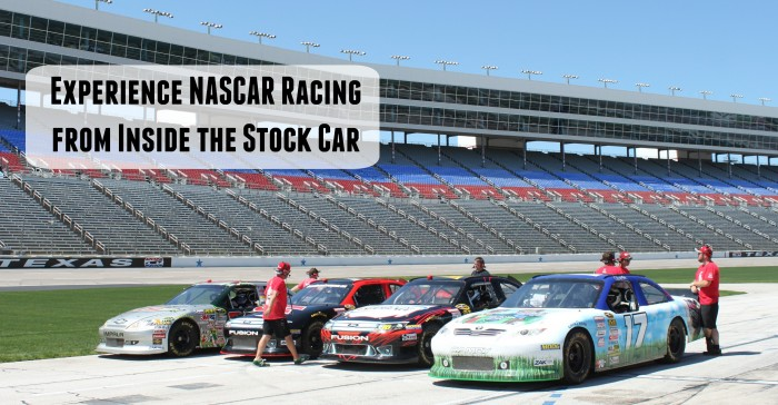 Experience NASCAR Racing from Inside the Car