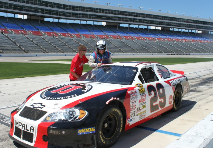 NASCAR stock car ride along experience