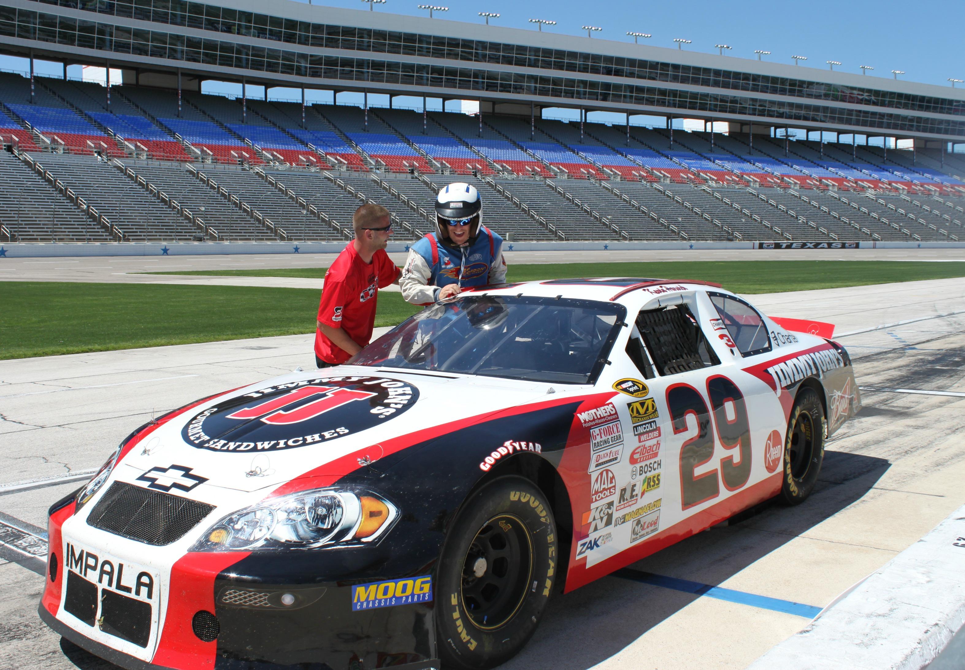 Race Car Ride Along Texas