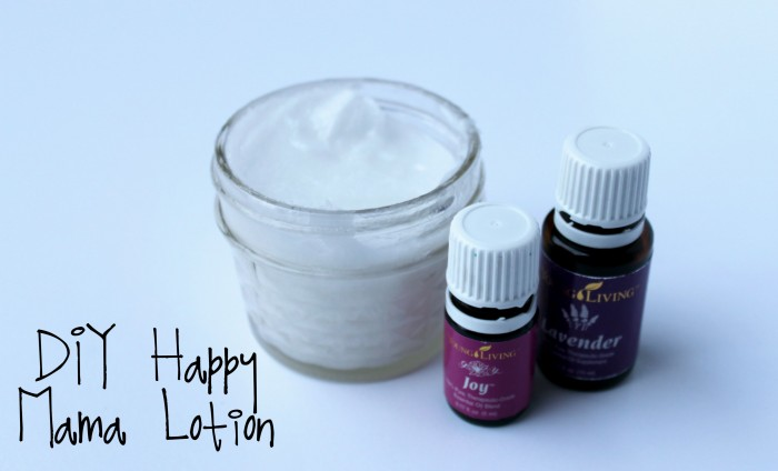 DIY Happy Mama Lotion