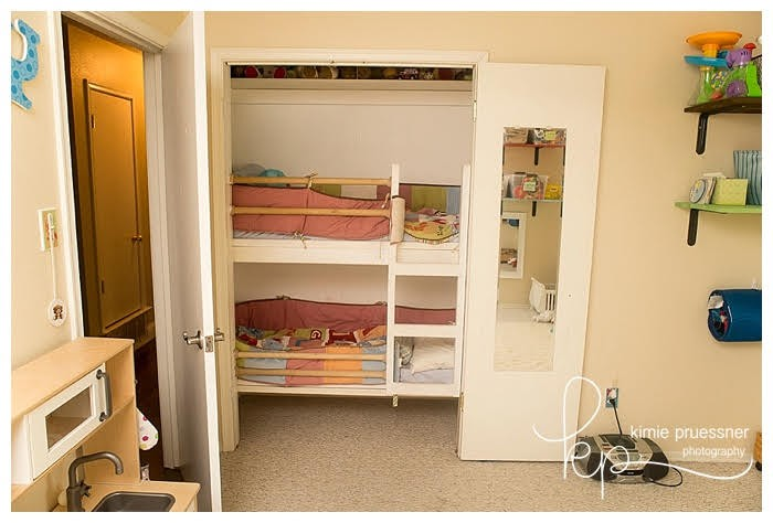 real home inspiration diy closet bunkbed in shared