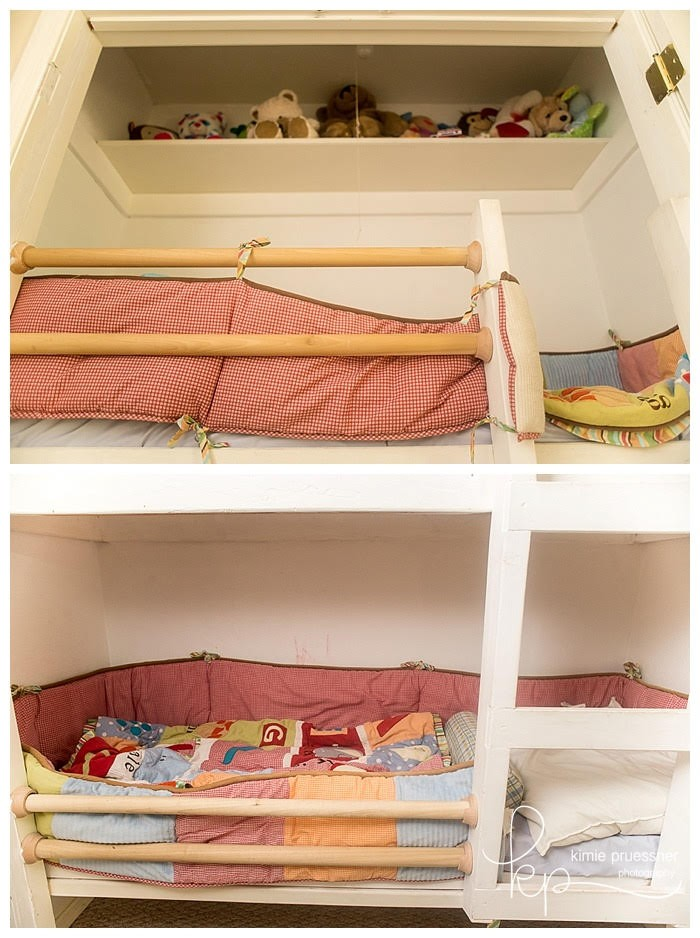 Best DIY closet bunkbed space