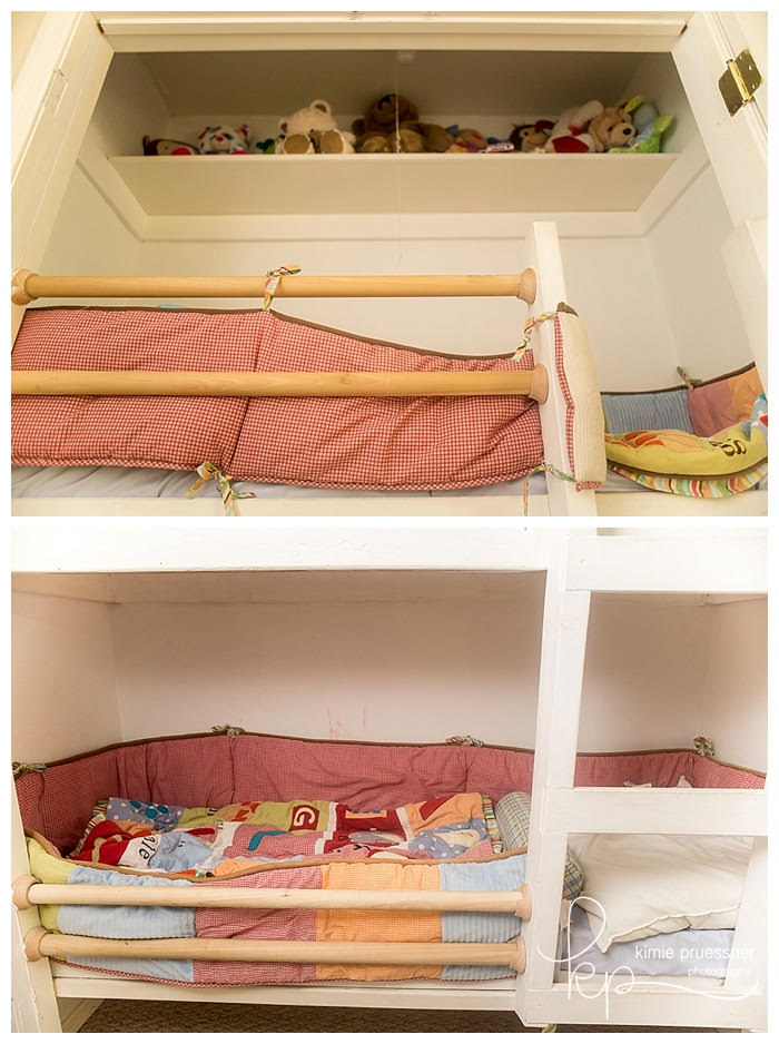 Fresh DIY closet bunkbed space