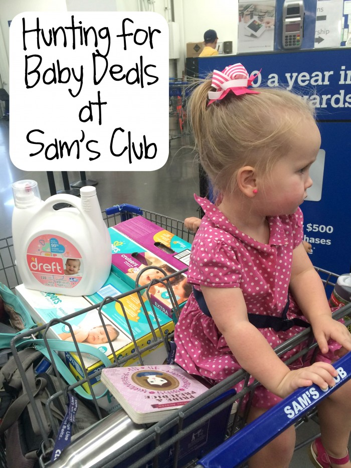 Hunting for Baby Deals at Sam's Club