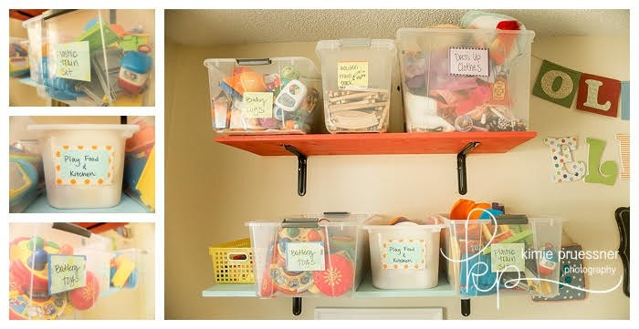 organization for kids' rooms