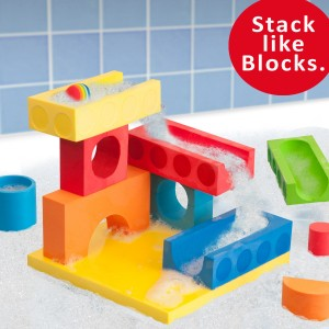 22067 15pc Ball Run in Gift Box - StackLikeBlocks