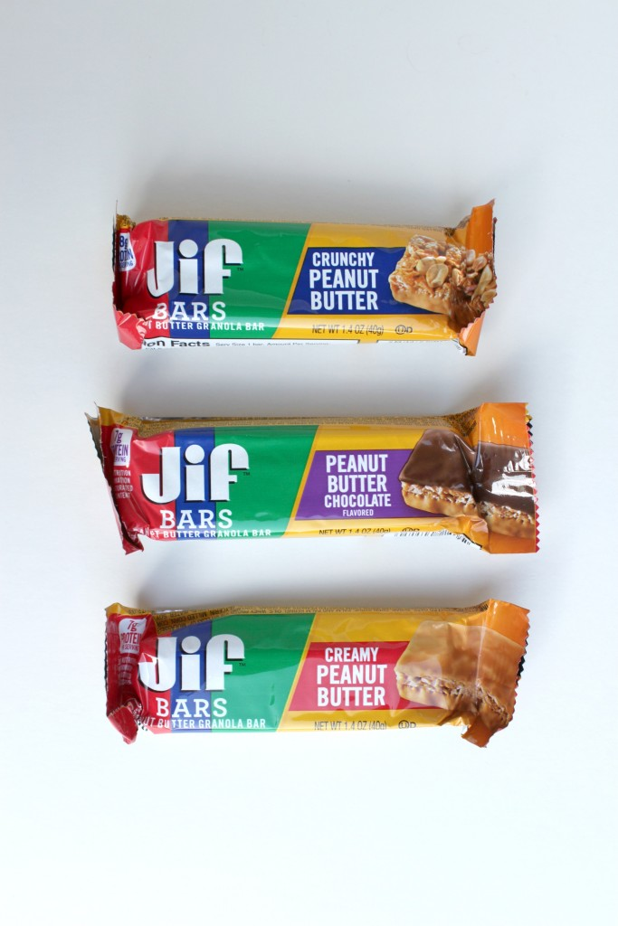 Keep Jif Bars with you for easy on the go snacks