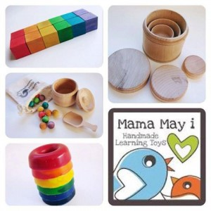 Mama May I Collage