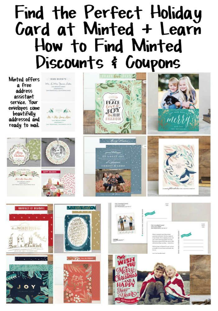 Find the Perfect Holiday Card at Minted and Learn How to Find Minted Discounts and Coupons