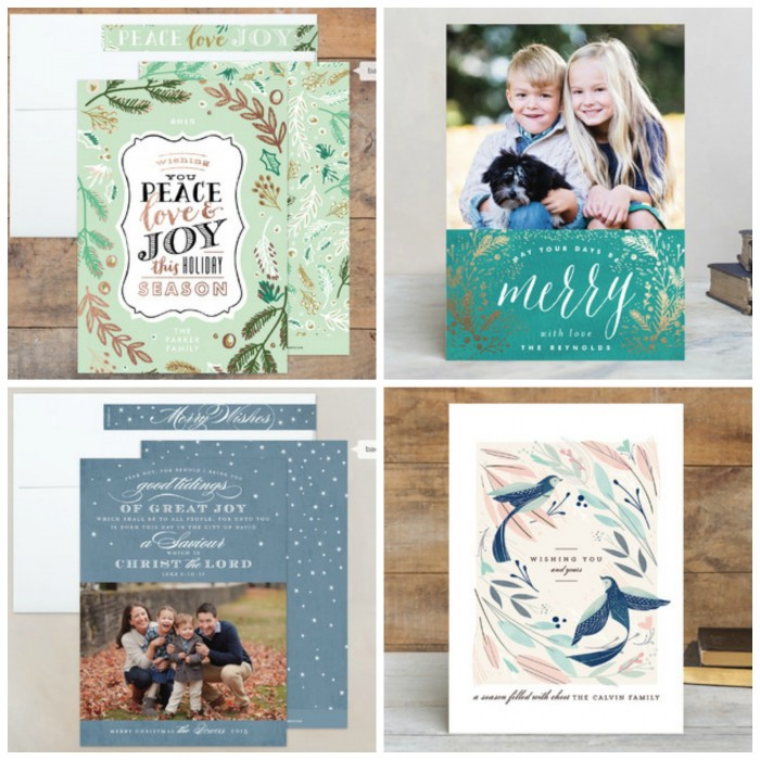 gorgeous card options from minted