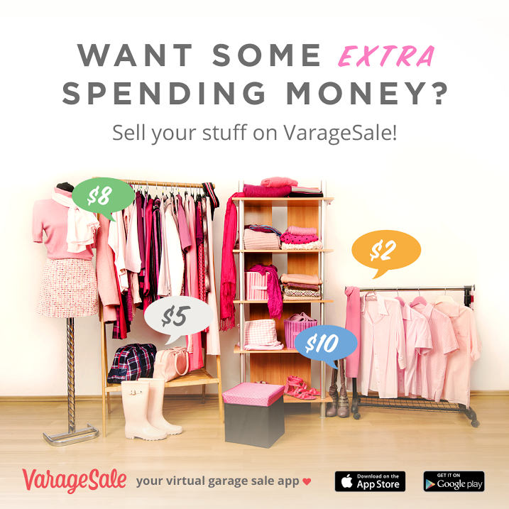 Sell Your Old Stuff and Find Deals on the VarageSale App - Bare Feet