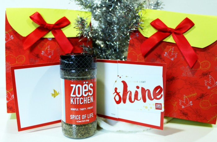 zoes kitchen gift cards make a great holiday gift