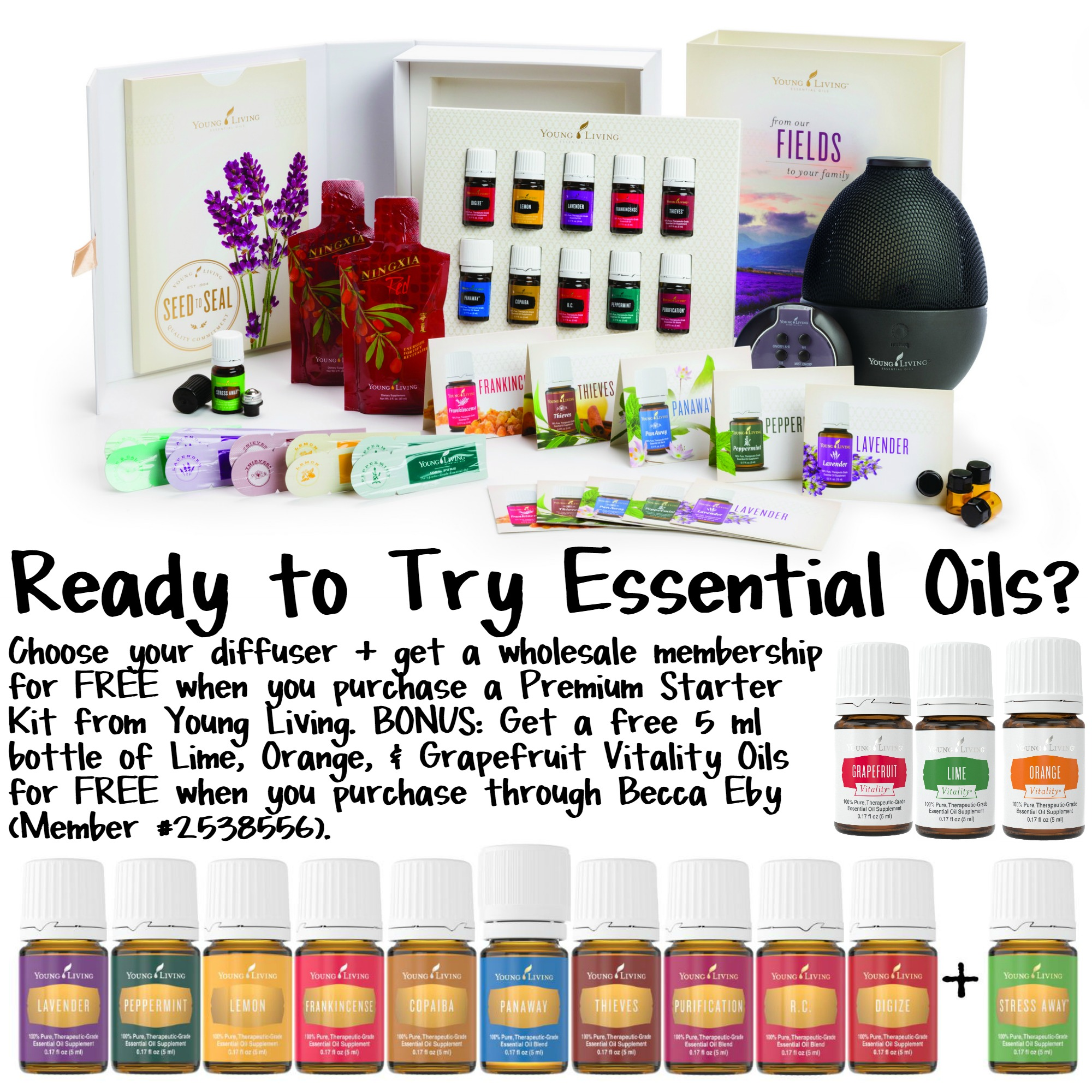 Essential Oils Premium Starter Kit Deal